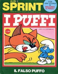 Copertina ALBI SPRINT n.16 - 1971-FALSO PUFFO/ROLANDO E PIRULI'/ROL, FRATELLI CRESPI