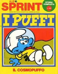 Copertina ALBI SPRINT n.18 - 1971-IL COSMOPUFFO, FRATELLI CRESPI
