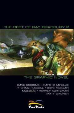 Copertina BEST OF RAY BRADBURY, THE [di 2] n.2 - BEST OF RAY BRADBURY 2 THE GRAPHIC NOVEL, FREE BOOKS
