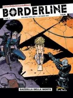 Copertina BORDERLINE [di 7] n.4 - GAZZELLA DELLA MORTE, FREE BOOKS