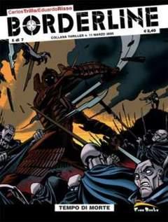 Copertina BORDERLINE [di 7] n.6 - TEMPO DI MORTE, FREE BOOKS