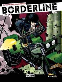 Copertina BORDERLINE PACK n.0 - contiene BORDERLINE 1/7, FREE BOOKS