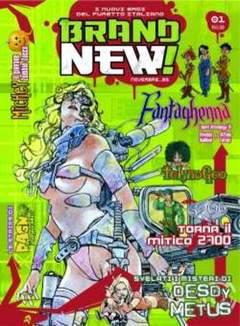Copertina BRAND NEW! n.1 - BRAND NEW                    1, FREE BOOKS
