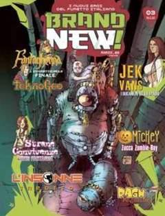Copertina BRAND NEW! n.3 - BRAND NEW                    3, FREE BOOKS