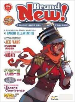 Copertina BRAND NEW! n.4 - BRAND NEW                    4, FREE BOOKS