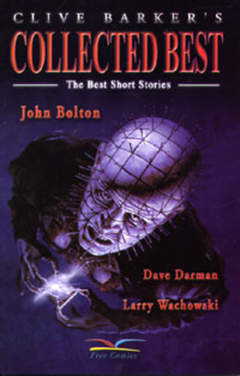 Copertina COLLECTED BEST n.1 - CLIVE BARKER'S HELLRAISER, FREE BOOKS