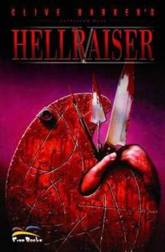 Copertina COLLECTED BEST n.5 - CLIVE BARKER'S HELLRAISER, FREE BOOKS