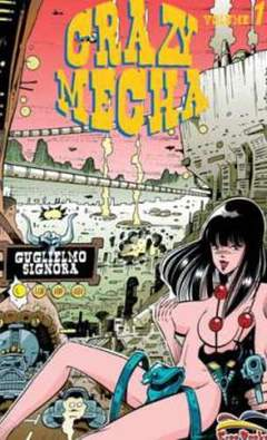 Copertina CRAZY MECHA PACK n.0 - contiene CRAZY MECHA 1/2, FREE BOOKS