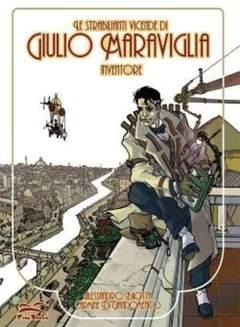 Copertina GIULIO MARAVIGLIA ED.FUMETTER. n. - LE STRABILIANTI VICENDE DI GIULIO MARAVIGLIA, FREE BOOKS