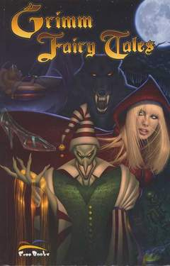 Copertina GRIMM FAIRY TALES volume n.1 - GRIMM FAIRY TALES, FREE BOOKS