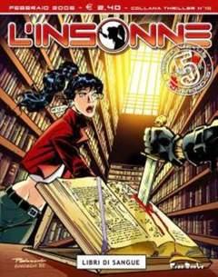 Copertina L'INSONNE n.5 - LIBRI DI SANGUE, FREE BOOKS