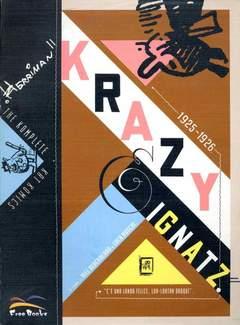 Copertina KRAZY & IGNATZ n.1 - THE KOMPLETE KRAZY KAT KOMICS (1925-1926), FREE BOOKS