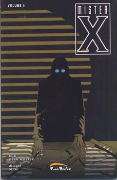 Copertina MISTER X [di 4] n.4 - (DI 4), FREE BOOKS