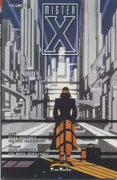 Copertina MISTER X PACK n.0 - contiene MISTER X 1/4, FREE BOOKS