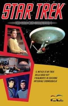 Copertina STAR TREK: THE GOLD KEY COLLECTION n.1 - STAR TREK GOLD KEY           1, FREE BOOKS