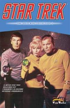 Copertina STAR TREK: THE GOLD KEY COLLECTION n.5 - STAR TREK GOLD KEY           5, FREE BOOKS