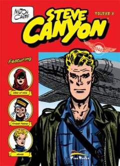 Copertina STEVE CANYON n.3 - STEVE CANYON, FREE BOOKS