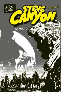 Copertina STEVE CANYON n.7 - FEBBRAIO/SETTEMBRE 1950, FREE BOOKS