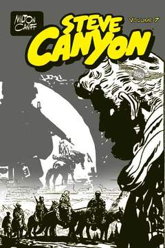 Copertina STEVE CANYON PACK n.2 - Contiene STEVE CANYON 7/12, FREE BOOKS