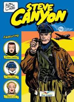 Copertina STEVE CANYON PACK n.1 - Contiene STEVE CANYON 1/6, FREE BOOKS