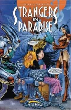 Copertina STRANGERS IN PARADISE (m24) n.5 - NUOVA EDIZIONE, FREE BOOKS