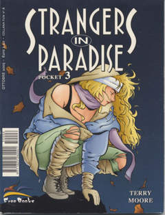 Copertina STRANGERS IN PARADISE POCKET n.3 - STRANGERS IN PARADISE POC    3, FREE BOOKS