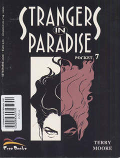 Copertina STRANGERS IN PARADISE POCKET n.7 - STRANGERS IN PARADISE POC    7, FREE BOOKS
