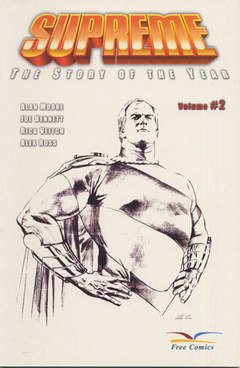 Copertina SUPREME STORY OF YEAR n.2 - VOLUME 2, FREE BOOKS