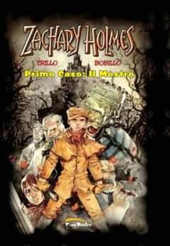 Copertina ZACHARY HOLMES [di 2] n.1 - PRIMO CASO: IL MOSTRO, FREE BOOKS