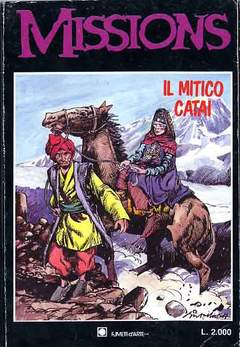 Copertina MISSION n.4 - MISSION                      4, FUMETTI D'ARTE