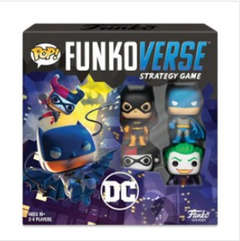 Copertina DC COMICS STRATEGY GAME n. - POP FUNKOVERSE - DC COMICS STRATEGY GAME SET BASE, FUNKO