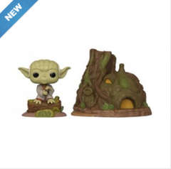 Copertina POP FUNKO n.362 - DAGOBAH YODA WITH HUT - THE EMPIRE STRIKES BACK, FUNKO