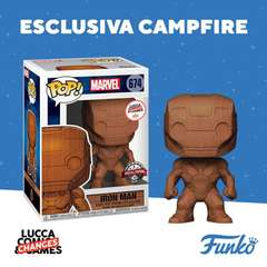 Copertina POP FUNKO n.646 - IRON MAN (WD) LUCCA CHANGES 2020 EXCL, FUNKO