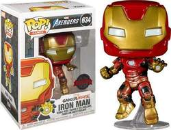 Copertina POP FUNKO n.685 - 634 - IRON MAN (SPACE) - GAMES ACADEMY EXCLUSIVE, FUNKO