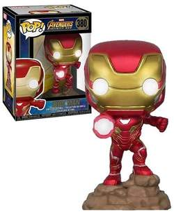 Copertina POP FUNKO n.838 - 380 - MARVEL AVENGERS INFINITY IRON MAN W/LIGHT, FUNKO