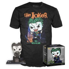 Copertina T-SHIRT FUNKO n.30 - THE JOKER LOOSE TEE - XL, FUNKO
