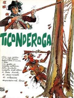 Copertina TICONDEROGA n. - TICONDEROGA, GATTO E VOLPE EDIZIONI