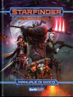 Copertina STARFINDER MANUALE DI GIOCO n. - STARFINDER MANUALE DI GIOCO, GIOCHI UNITI