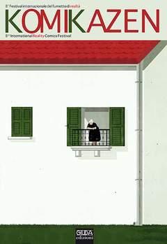Copertina KOMIKAZEN n.2 - 2012 FESTIVAL INTERNAZIONALE DEL FUMETTO DI REALTA, GIUDA EDIZIONI
