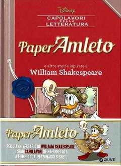 Copertina CAPOLAVORI DELLA LETTERATURA n.1 - PaperAmleto e altre storie ispirate a William Shakespeare, GIUNTI