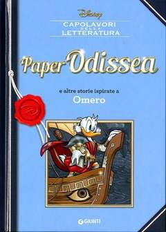 Copertina CAPOLAVORI DELLA LETTERATURA n.4 - PaperOdissea e altre storie ispirate a Omero, GIUNTI