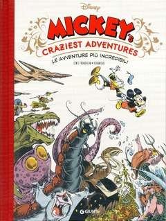 Copertina DISNEY COMICS COLLECTION n.1 - MICKEY'S CRAZIEST ADVENTURES, GIUNTI