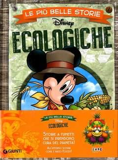 Copertina PIU' BELLE STORIE DISNEY n.16 - Ecologiche, GIUNTI