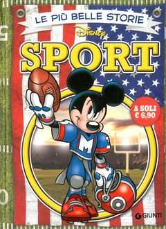 Copertina PIU' BELLE STORIE DISNEY n.19 - Sport, GIUNTI