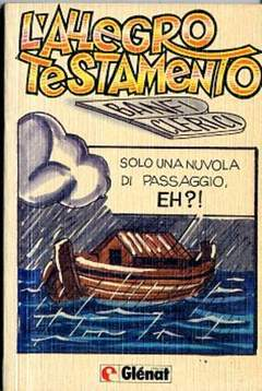 Copertina ALLEGRO TESTAMENTO n. - L'ALLEGRO TESTAMENTO, GLENAT ITALIA