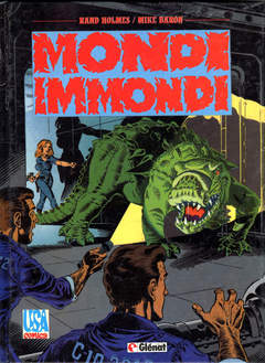Copertina MONDI IMMONDI n. - MONDI IMMONDI, GLENAT ITALIA