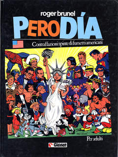 Copertina PERODIA n. - PERODIA, GLENAT ITALIA
