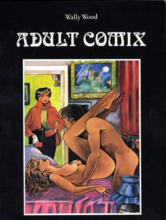 Copertina ADULT COMIX n. - ADULT COMIX, GLITTERING IMAGES