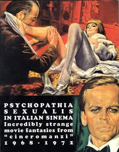 Copertina BIZARRE SINEMA n.5 - PSYCHOPATIA SEXUALIS IN ITALIAN SINEMA (1968-1972), GLITTERING IMAGES