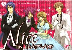 Copertina ALICE IN HEARTLAND (m6) n.5 - ALICE IN HEARTLAND, GP PUBLISHING
